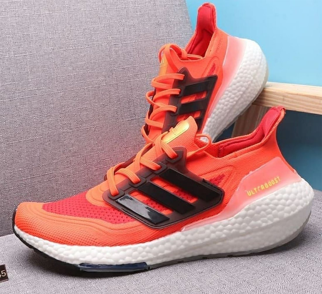 adidas Ultra Boost 2021 Solar Red Release Date Info