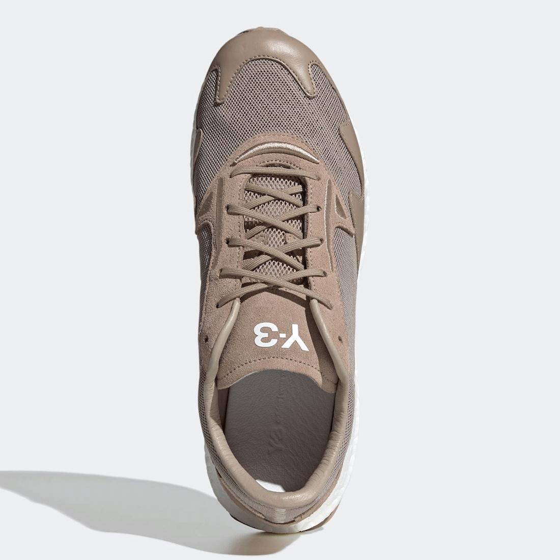 adidas Y-3 Rhisu Run Trace Khaki FX7262 Release Date Info