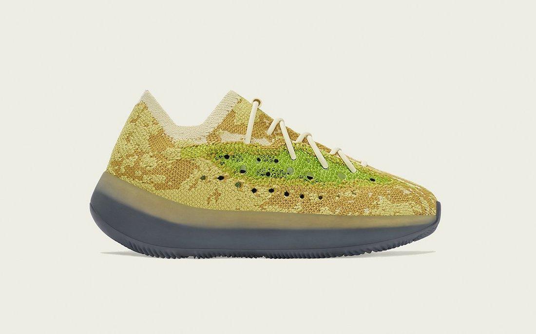 adidas Yeezy 380 Hylte Glow FZ4991 Release Date