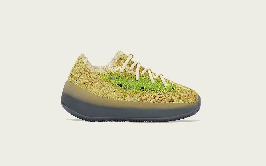 adidas Yeezy 380 Hylte Glow FZ4992 Release Date