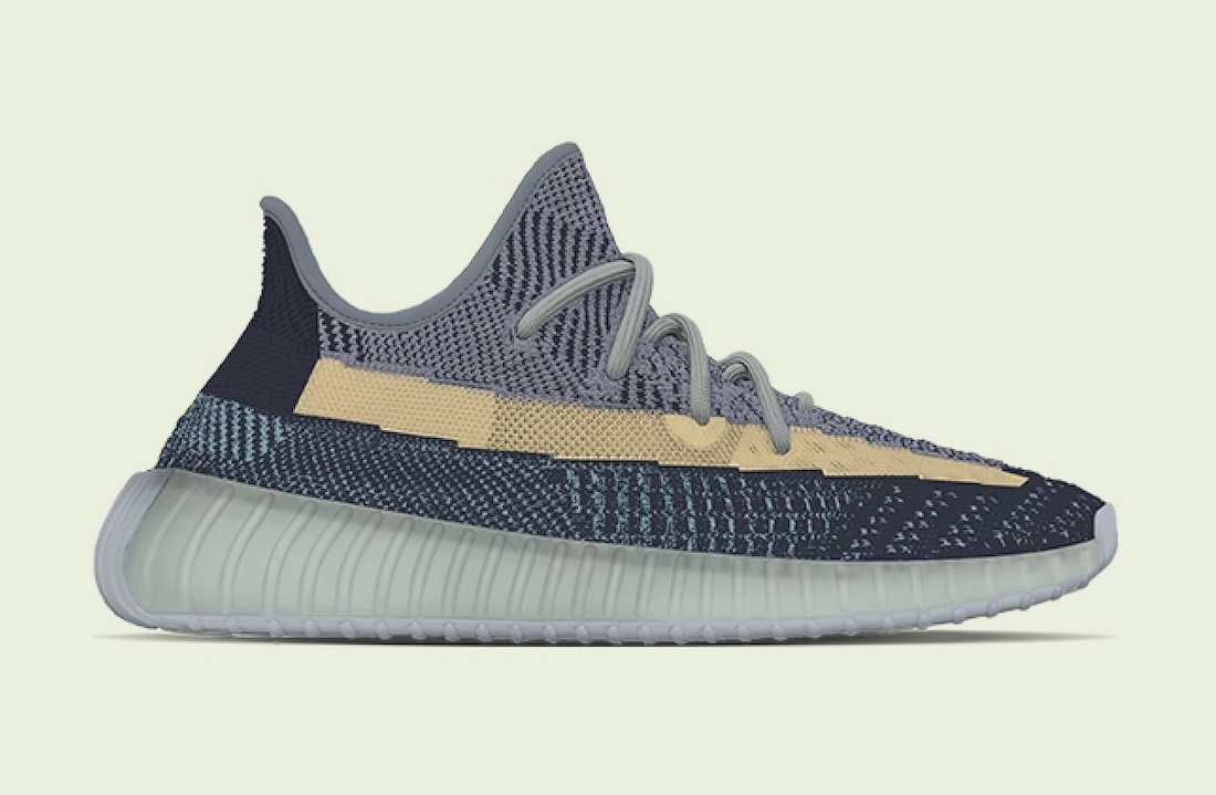 adidas Yeezy Boost 350 V2 Ash Blue Release Date Info