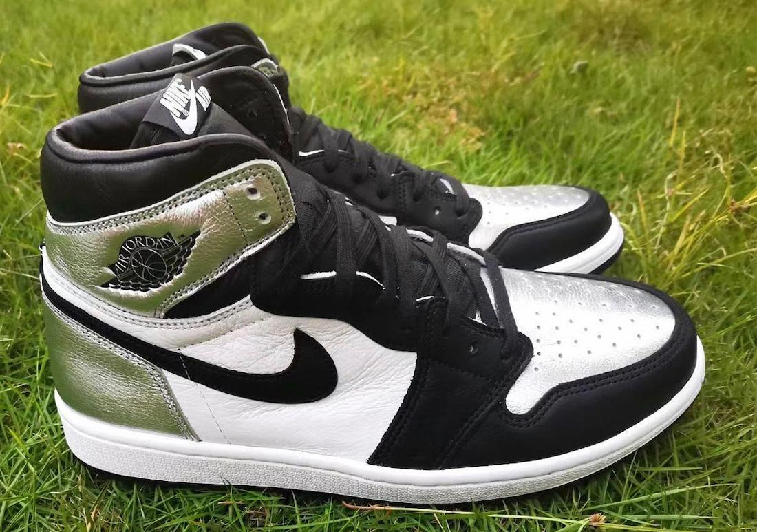 Air Jordan 1 High OG Silver Toe CD0461-001 Release Info