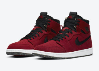 Air Jordan 1 High Zoom Red Suede CT0978-600 Release Date Info