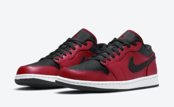Air Jordan 1 Low Gym Red 553558-605 Release Date Info