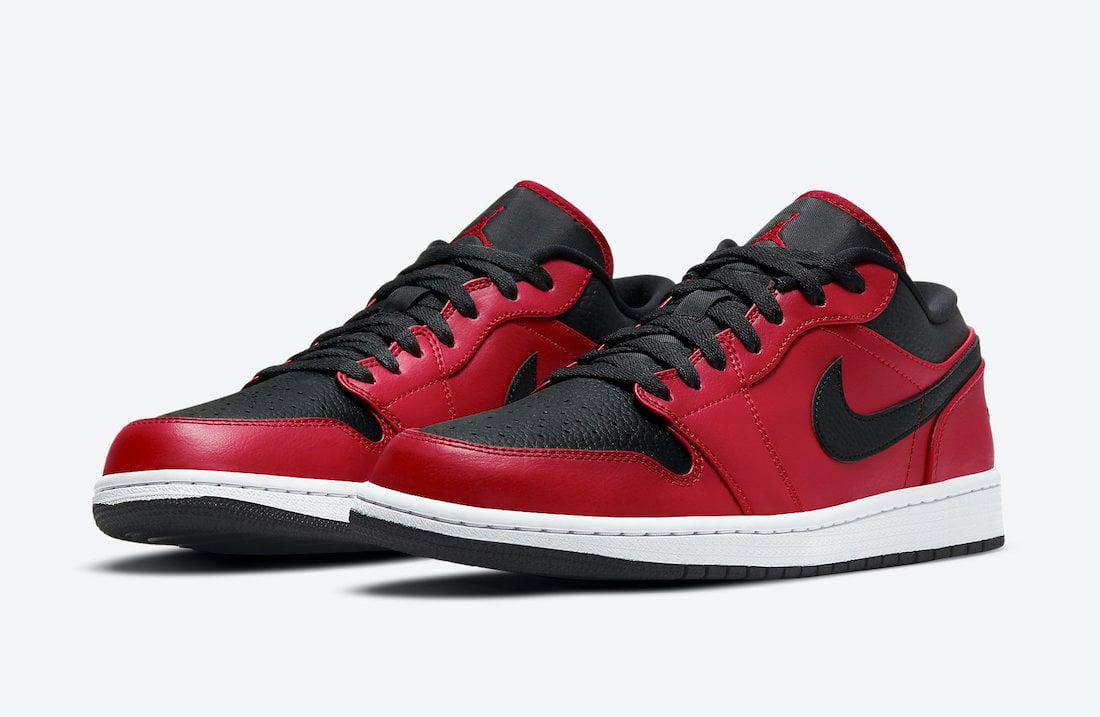 Air Jordan 1 Low Gym Red 553558-605 Release Date Info