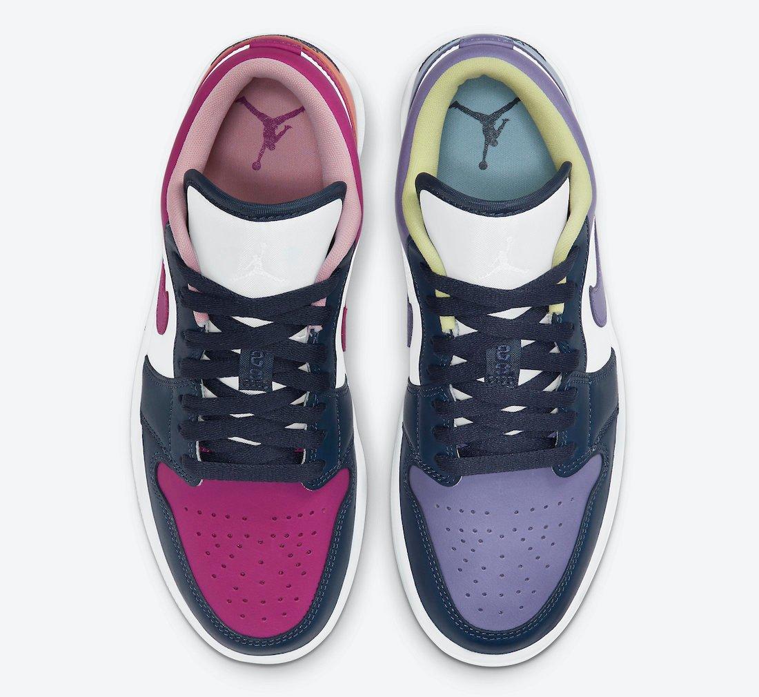Air Jordan 1 Low Mismatched DJ4342-400 Release Date Info