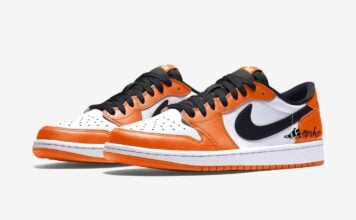 Air Jordan 1 Low OG Orange White Black CZ0790-801 Release Date Info