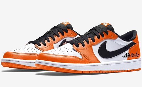 Air Jordan 1 Low Orange White Black 2021 Release Date