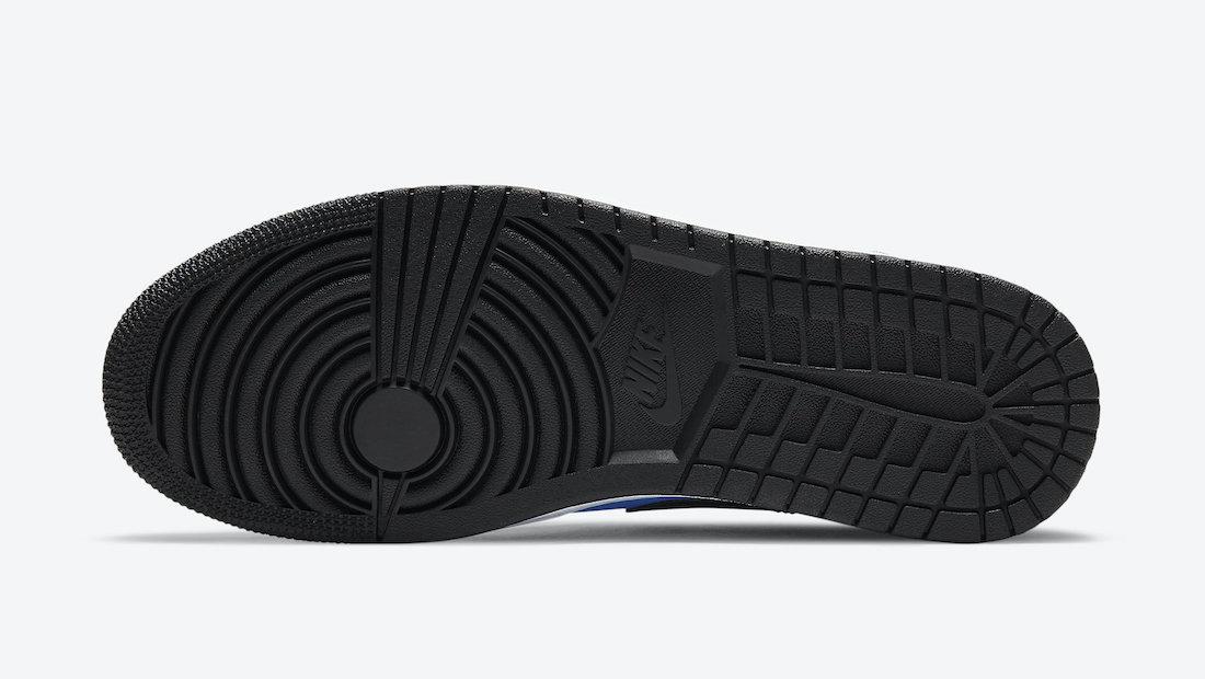 Air Jordan 1 Low University Blue Black 553558-403 Release Date Info