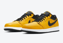 Air Jordan 1 Low University Gold 553558-700 Release Date Info