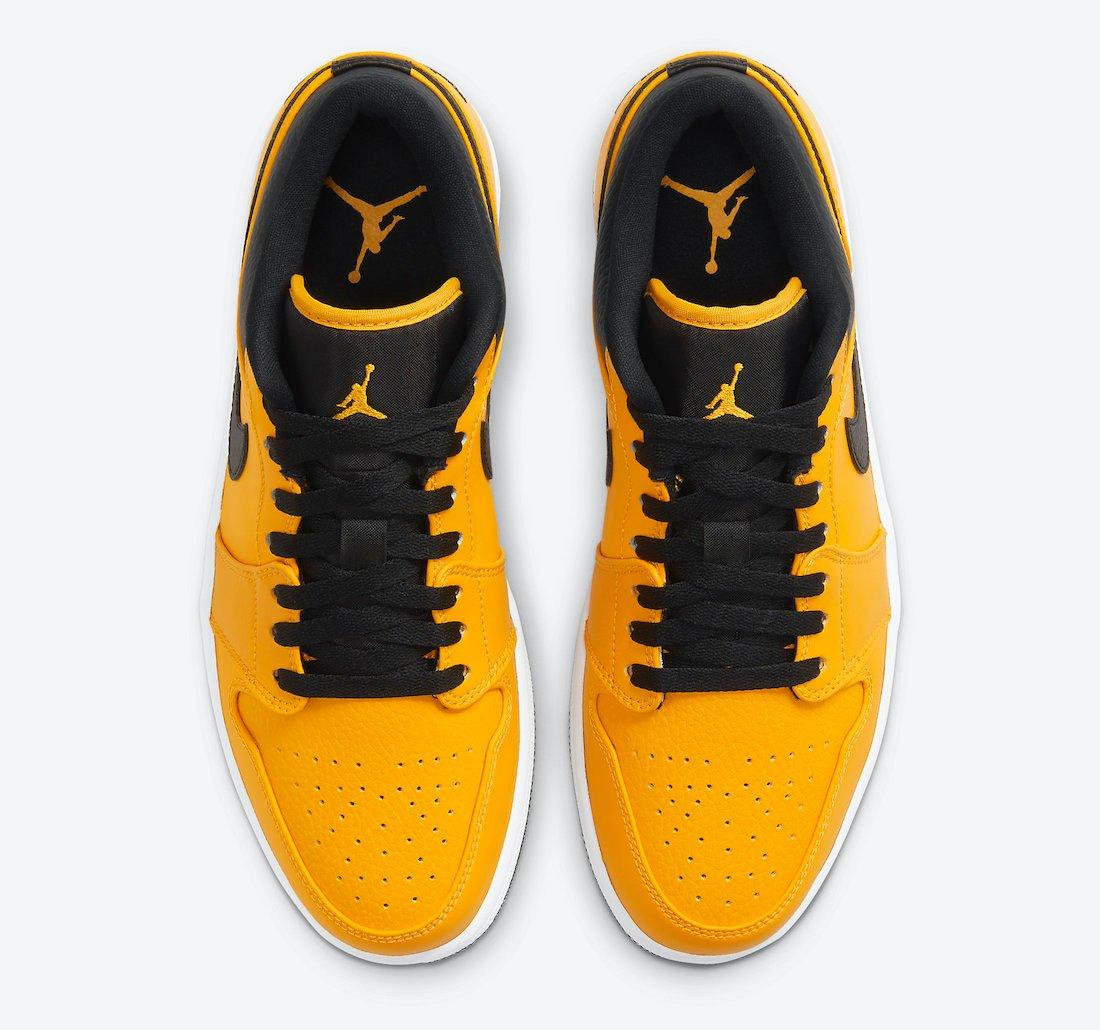 Air Jordan 1 Low University Gold 553558-700 Release Date Info