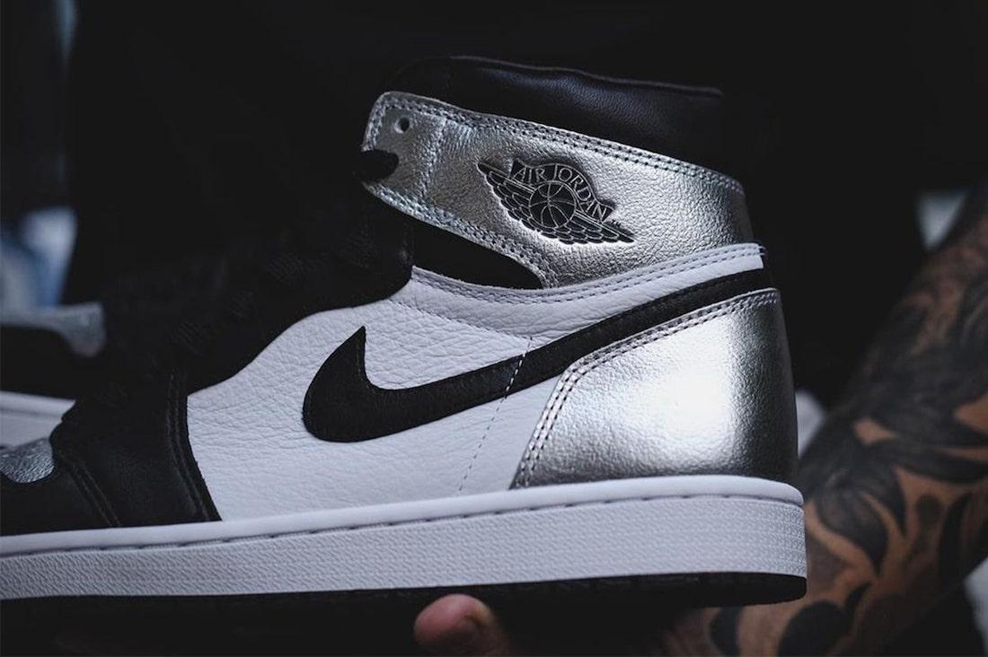 Air Jordan 1 Metallic Silver Toe CD0461-001 Release Date