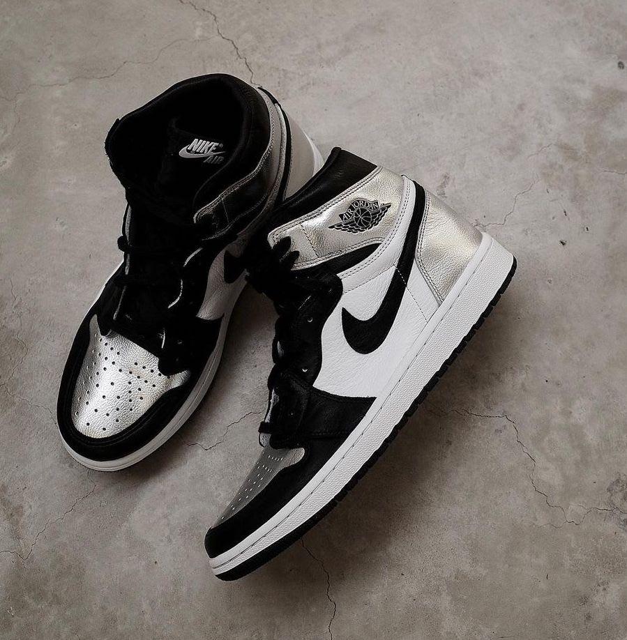 Air Jordan 1 OG Silver Toe CD0461-001 Release Info