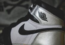 Air Jordan 1 Silver Toe WMNS CD0461-001