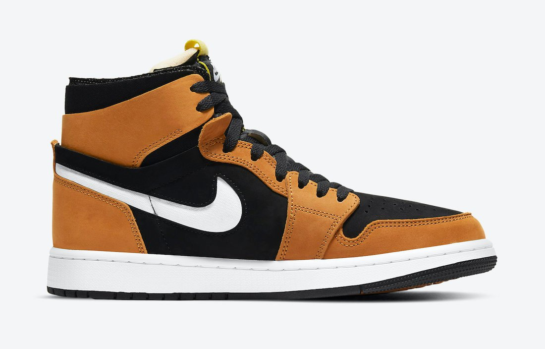 Air Jordan 1 Zoom Comfort Black Wheat CT0978-002 Release Date Info