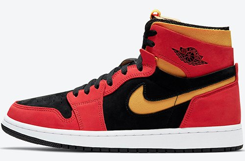 Air Jordan 1 Zoom Comfort Chile Red University Gold Release Date