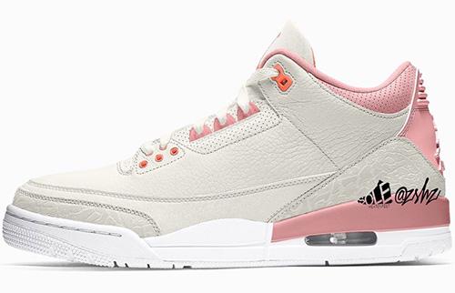 Air Jordan 3 WMNS Rust Pink Release Date