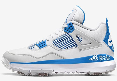 Air Jordan 4 Golf Military Blue Release Date