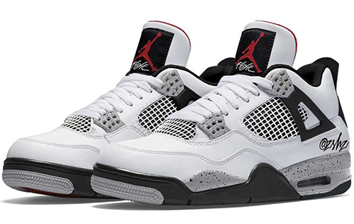 Air Jordan 4 White Tech Grey Black Fire Red 2021 Release Date