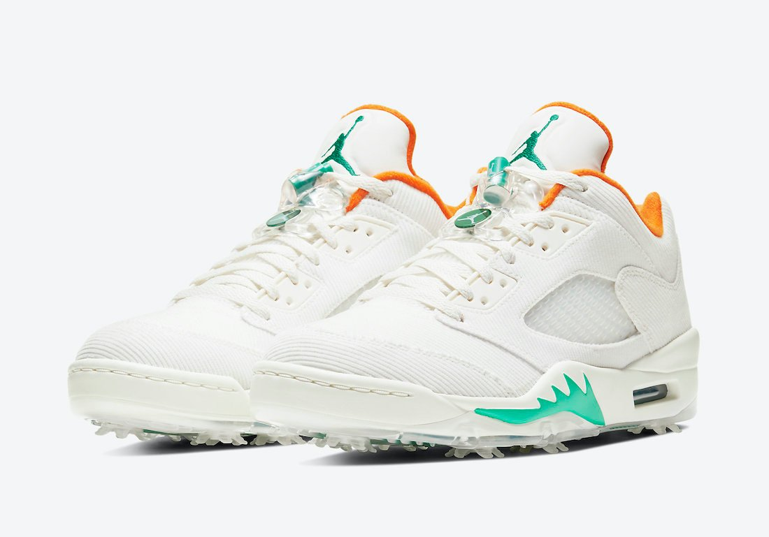 Air Jordan 5 Low Golf Lucky and Good CW4204-100 Release Date Info