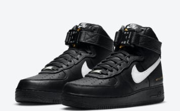 Alyx Nike Air Force 1 High Black White CQ4018-002 Release Date