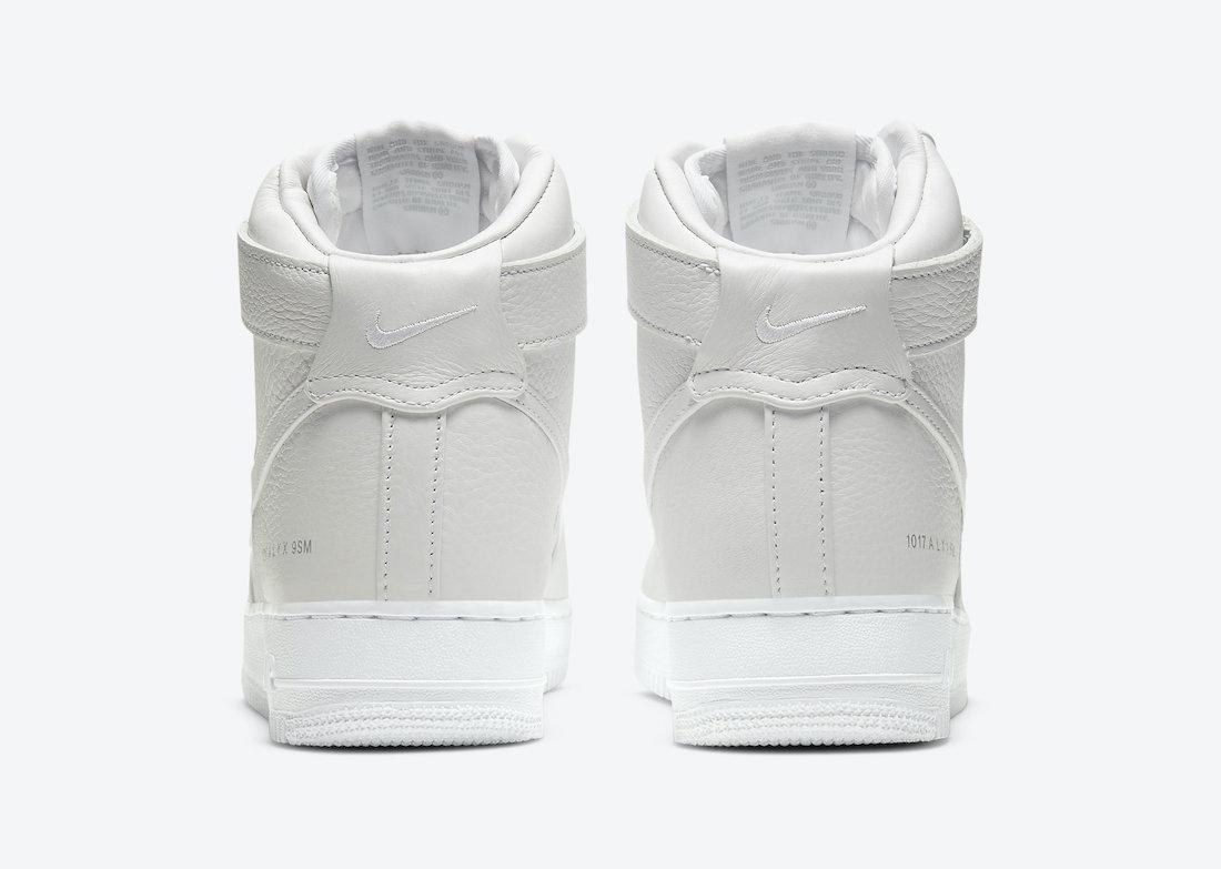 Alyx Nike Air Force 1 High White CQ4018-100 Release Date