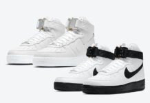 Alyx Nike Air Force 1 High White Black Triple White Release Date