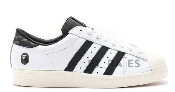 Bape adidas Superstar White Black 2021 Release Date