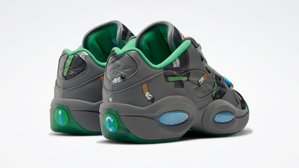 BBC Ice Cream Reebok Question Low Beepers and Butts FZ4342 Release Date Info