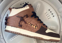 Bodega Nike Dunk High Fauna Brown Rustic Velvet Brown Multi-Color CZ8125-200