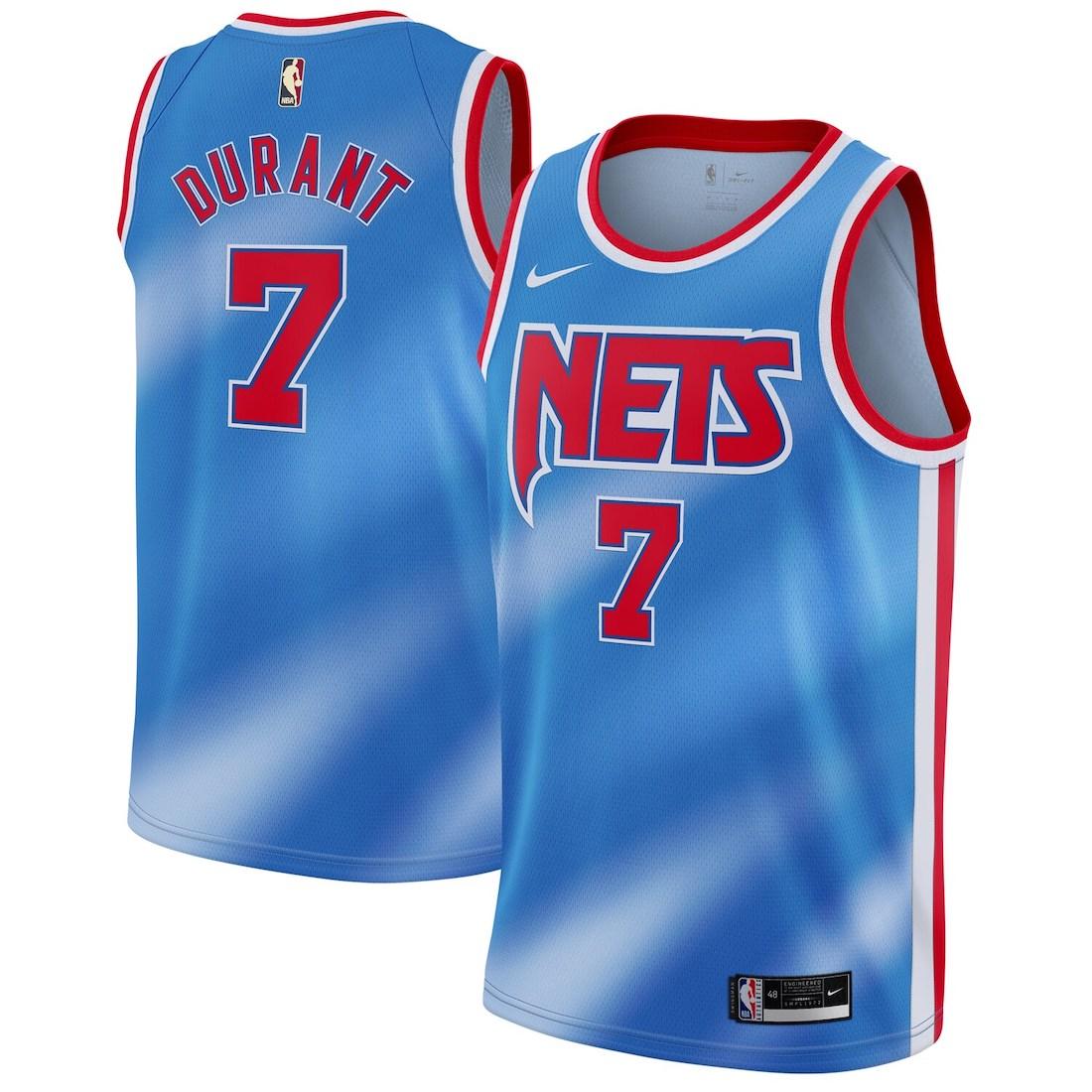 Brooklyn Nets Nike Classic Tie-Dye Jersey