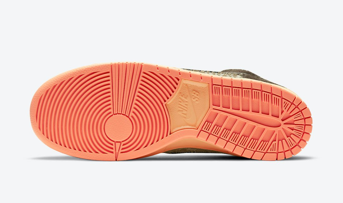 Concepts Nike SB Dunk High Turdunken DC6887-200 Release Date