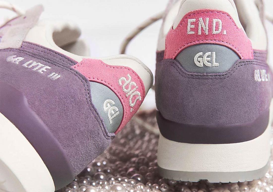 END Asics Gel Lyte III Pearl Release Date Info