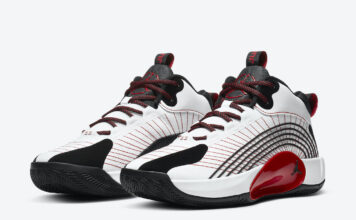 Jordan Jumpman 2021 PF White Black University Red CQ4229-100 Release Date Info