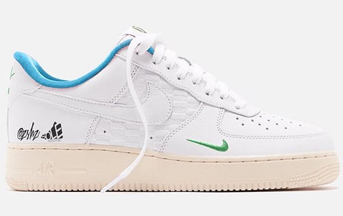 Kith Nike Air Force 1 Low White Blue Lagoon Aloe Verde White 2021 Release Date