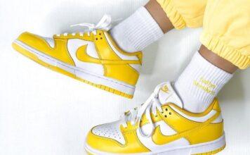 Laser Orange Nike Dunk Low