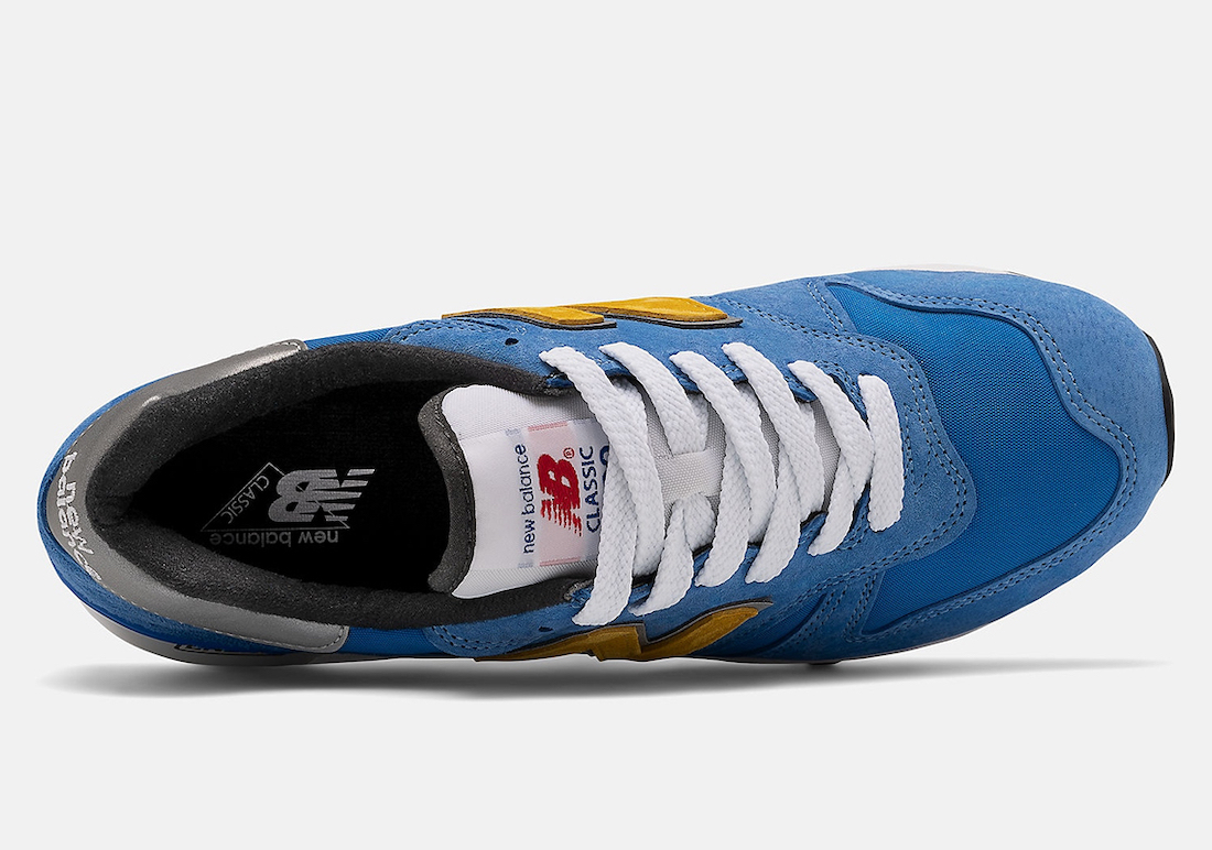 New Balance 1300 Blue Yellow ML1300V1-31324 Release Date Info