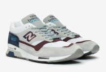 New Balance 1500 Made in England Grey Navy Burgundy M1500NBR Release Date Info