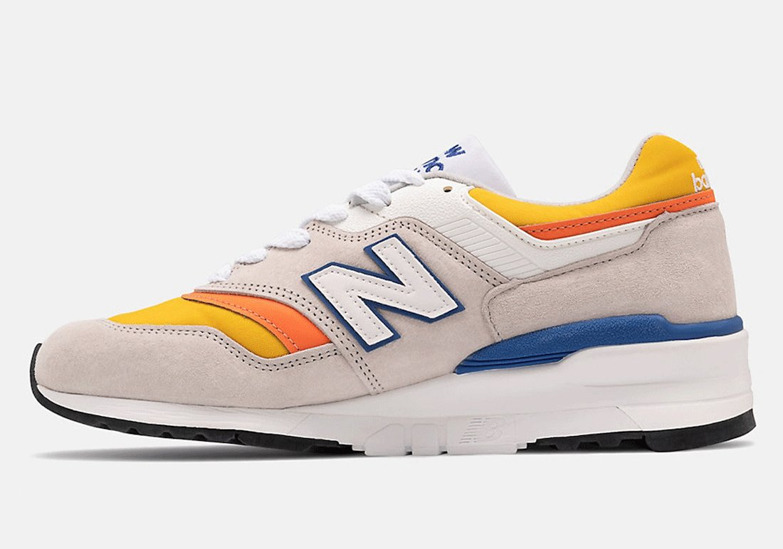 New Balance 997 Grey Orange ML997V1-31310 Release Date Info