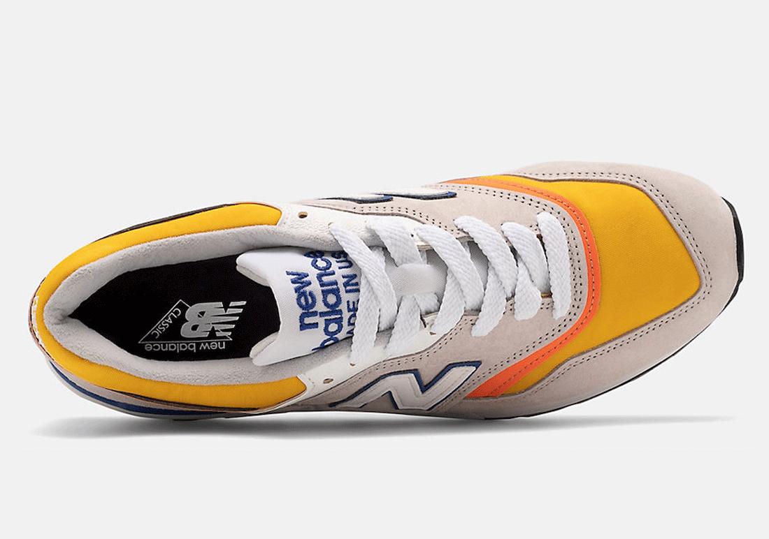 New Balance 997 Grey Orange ML997V1-31310 Release Date Info