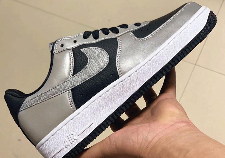Nike Air Force 1 B 3M Reflective Snake DJ6033-001 2021