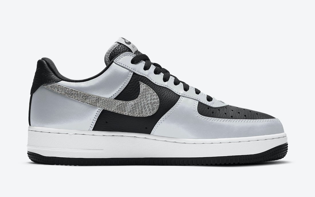 Nike Air Force 1 Low 3M Reflective Snake DJ6033-001 2021 Release Date