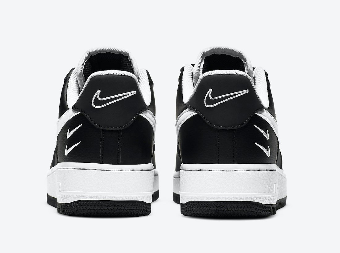 Nike Air Force 1 Low Black White CT2300-001 Release Date Info