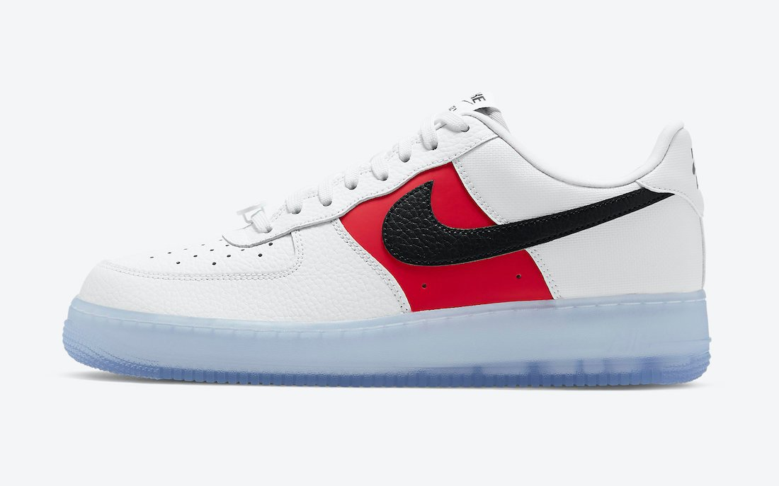 visitar Final Isla de Alcatraz  Nike Air Force 1 Low EMB White Black Red CT2295-110 Release Date Info |  SneakerFiles