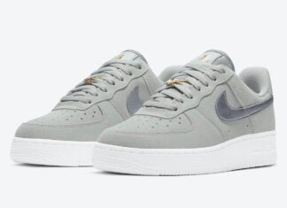 Nike Air Force 1 Low Grey Silver DC4458-001 Release Date Info