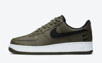 Nike Air Force 1 Low Olive Black CT2300-300 Release Date Info
