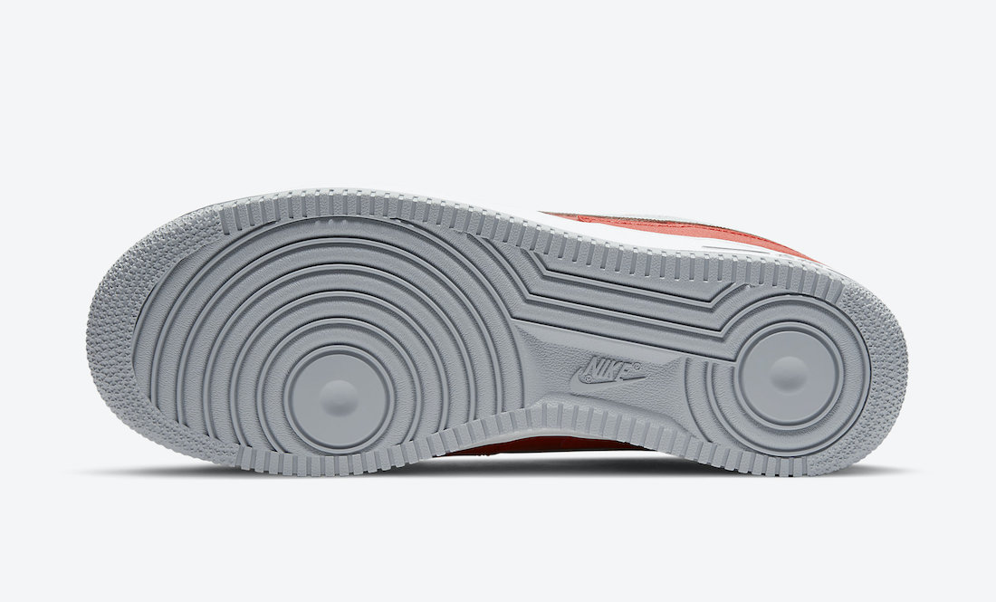 Nike Air Force 1 Low Red Grey DD7113-600 Release Date Info