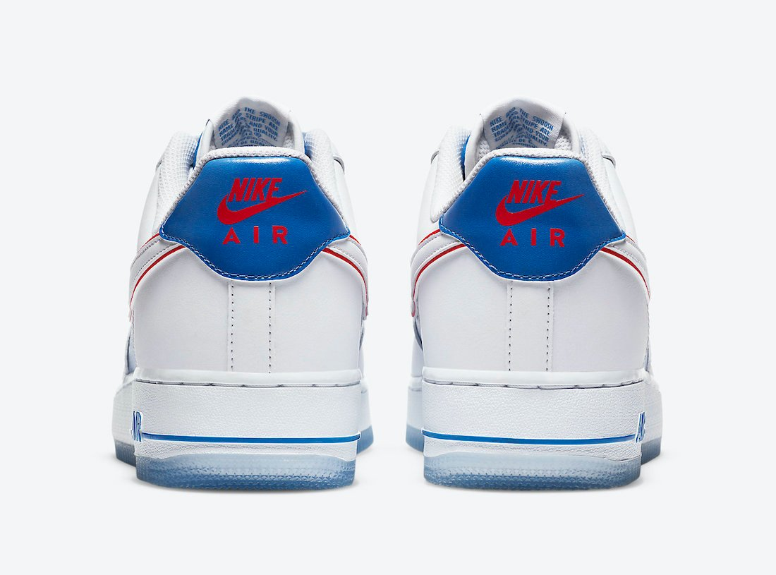 Nike Air Force 1 Low White Blue Red DC1404-100 Release Date Info