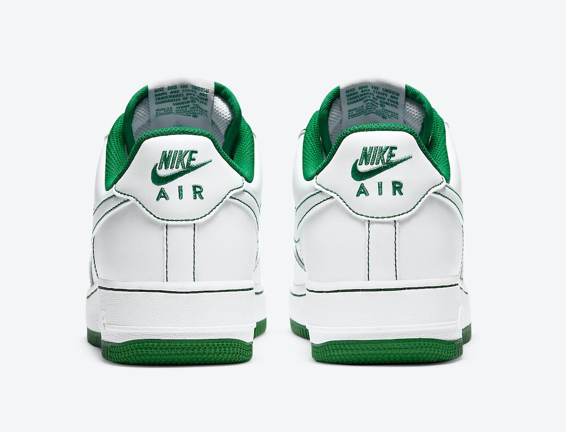 Nike Air Force 1 Low White Pine Green CV1724-103 Release Date Info