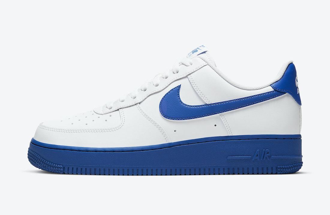 Nike Air Force 1 Low White Royal Blue